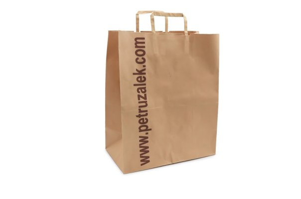 Sustainable ready meal packaging takeaway bag