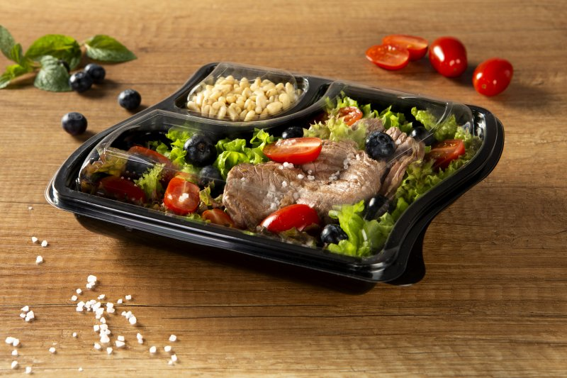 Sustainable ready meal packaging