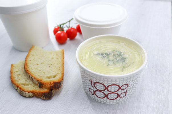 takeaway ready meal packaging soup cups