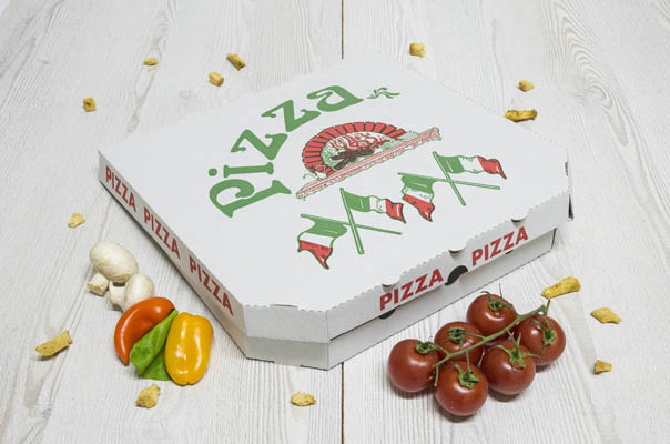takeaway ready meal packaging pizza boxes