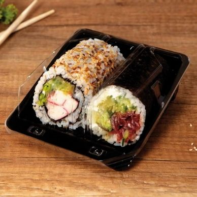 sushi ready meals packaging containers films and packaging machines